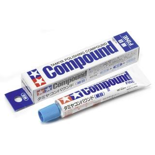 ◆弘德模型◆ 田宮 87069 細目 研磨劑 Compound Fine 研磨膏 拋光用 Tamiya 台北市