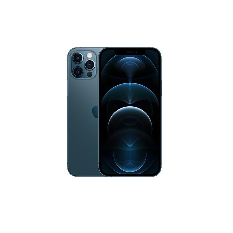 蘋果手機 官方正版 apple iphone 12 pro(a2408)256gb海藍色移動聯通電信5g雙卡雙待手機