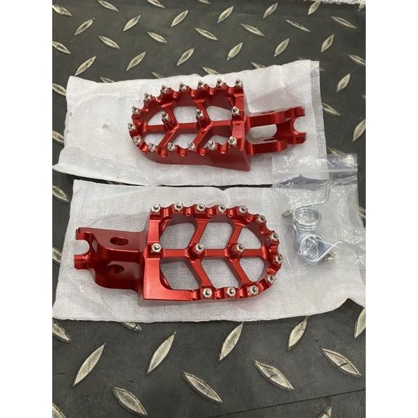 越野車CNC鋁合金腳踏CRF150L CRF250L CRF300L CRF300 RALLY