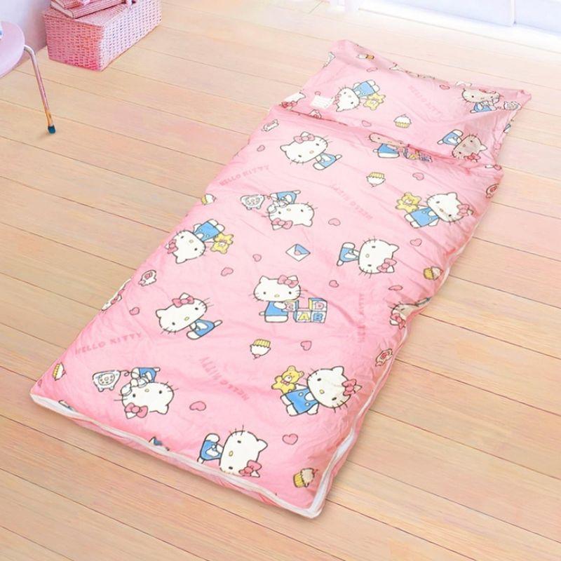 🙋免運  好市多 100% 純棉卡通兒童睡袋 150 X 120公分 - Hello Kitty 美好生活