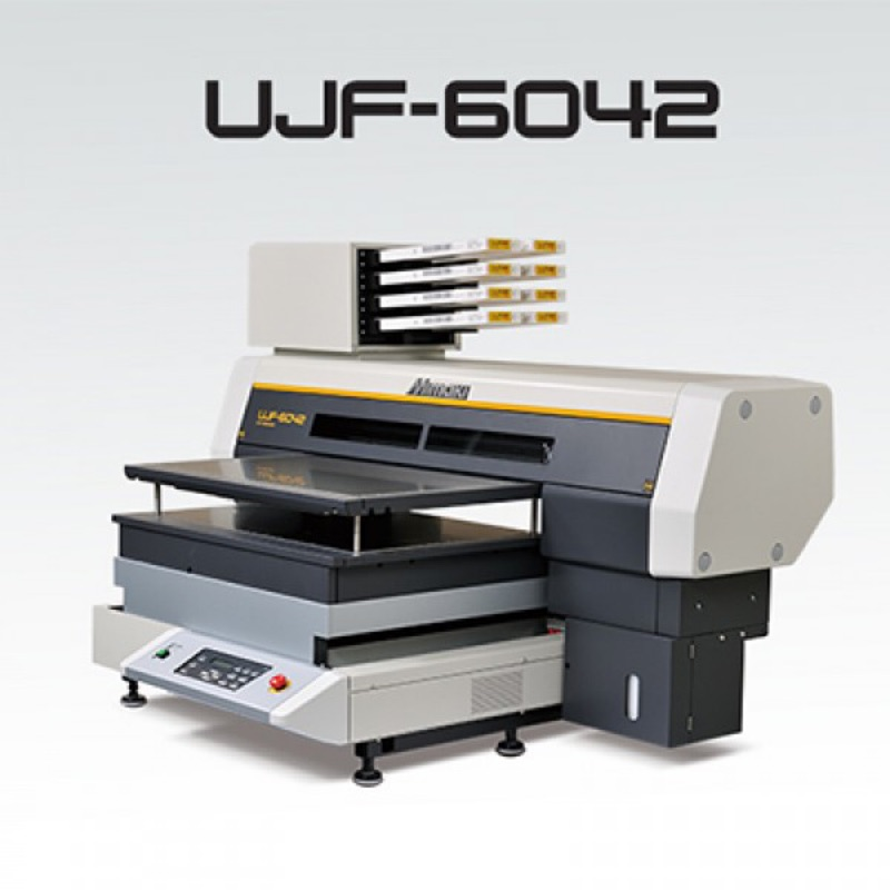 Mimaki UJF-6042數位UV噴墨印刷機(中古機)