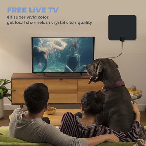 電視天線放大高清數字電視室內天線支持4K 1080P