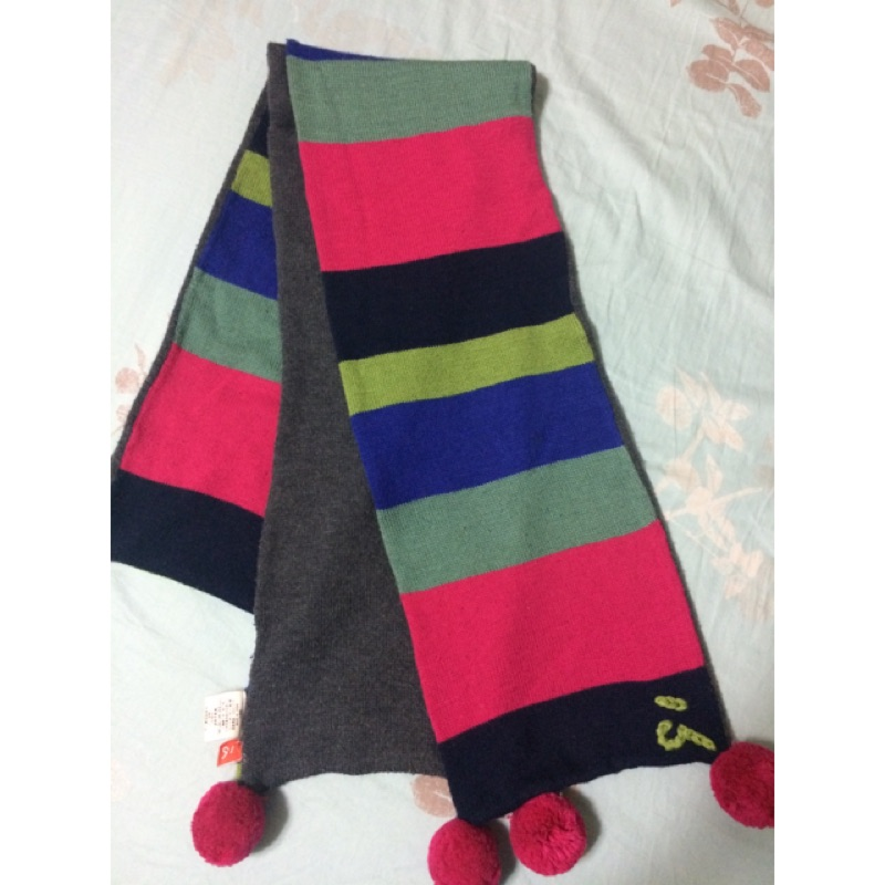 a la sha 羊毛圍巾