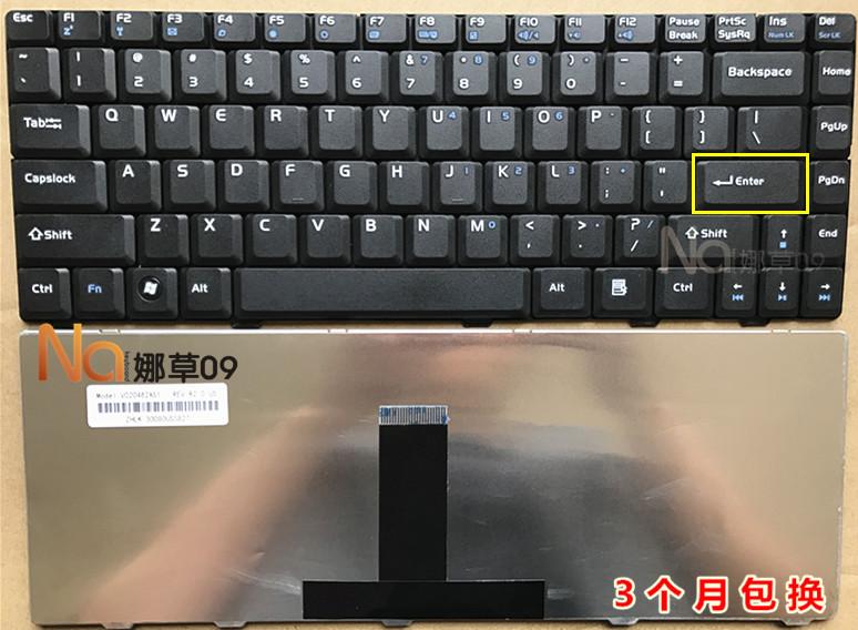 ASUS華碩F82Q f80 f80Q F81 f80CR F80C f80S f80L筆記本鍵盤