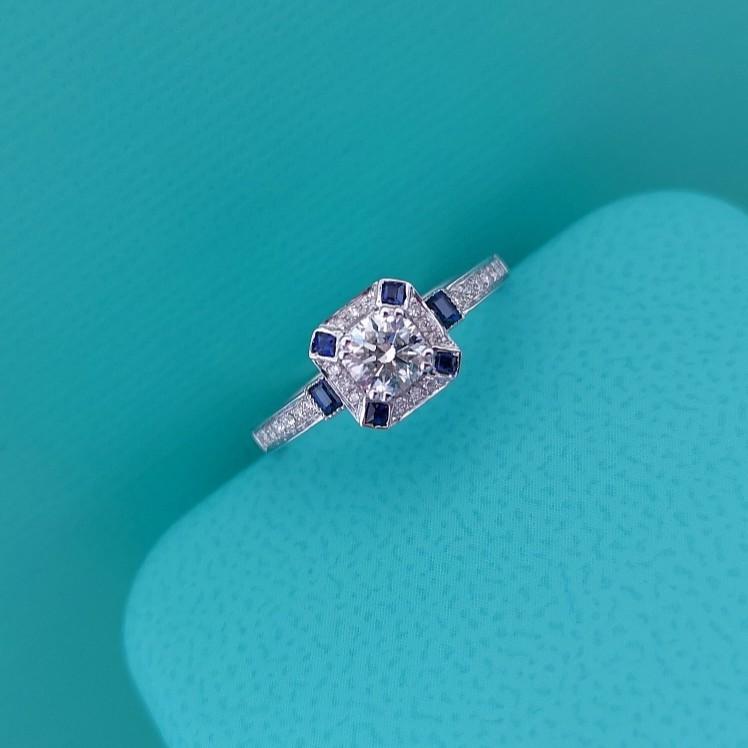 璽朵珠寶 [ 18K金 30分 鑽石戒指 ] 微鑲工藝 精品設計 鑽石權威 婚戒顧問 婚戒第一品牌 鑽戒 GIA