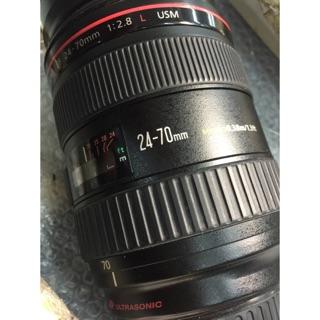 Canon 24-70mm f2.8 維修服務 清洗保養 鏡頭錯誤 無法變焦 更換排線 高雄市