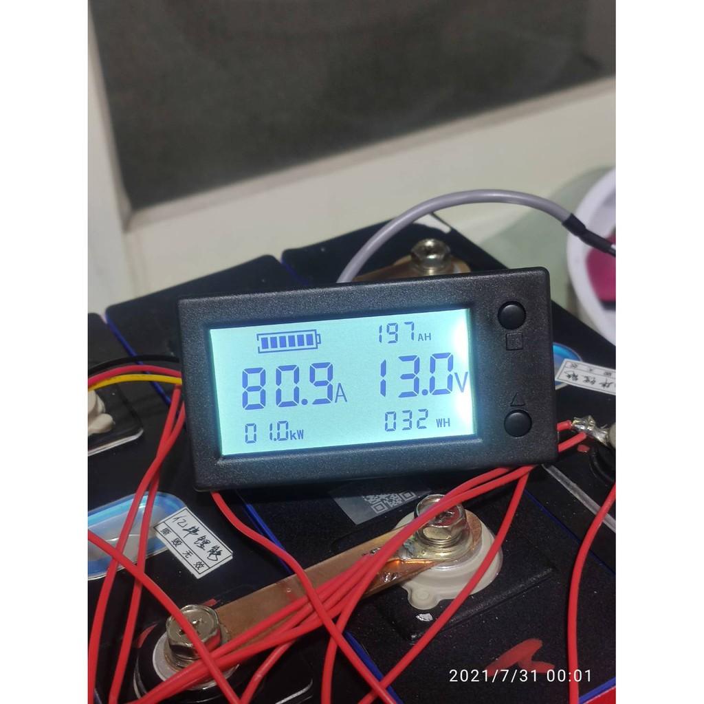 庫倫計 200安培 200A 電流表 磷酸鐵鋰電池 鋰鐵電池 鋰電池 露營 變壓器 逆變器 逆電器 露營 房車 駐車冷氣