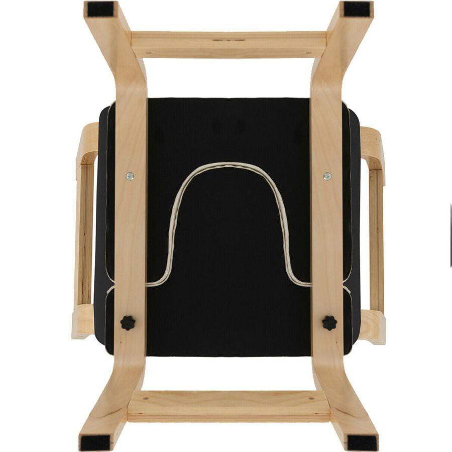 LULA 瑜伽倒立倒立凳健身訓練器材家用健身房黑色木製瑜伽倒凳椅