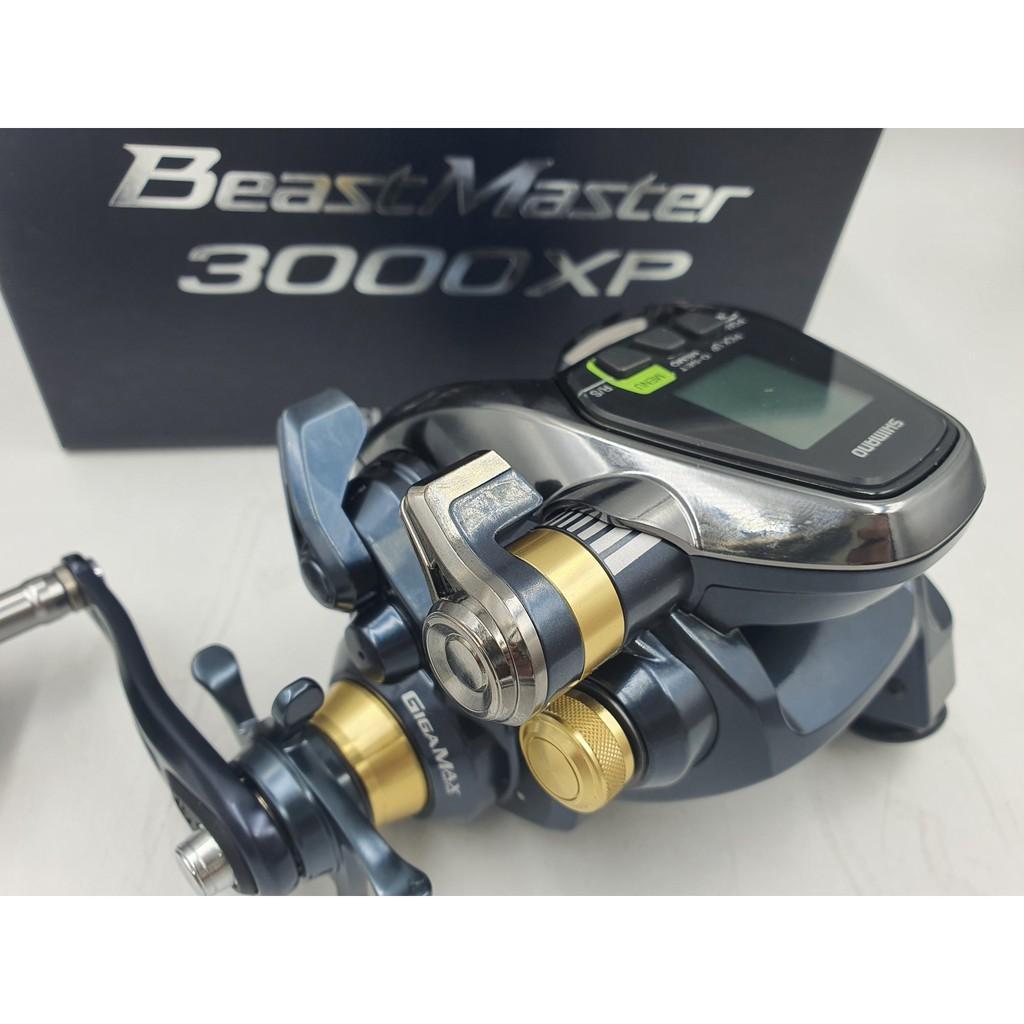 釣魚 日本SHIMANO 電動捲線器 BEAST MASTER BM3000XP 船釣 電捲 底棲 小搞搞