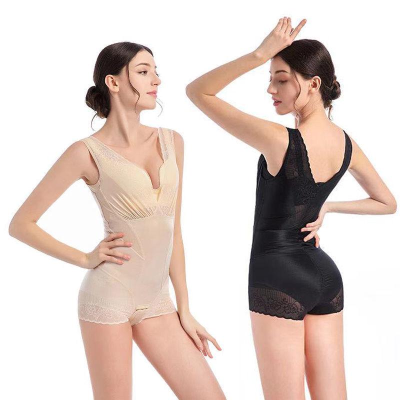 新款美人計塑身衣燃脂收腹塑身提臀美體衣减肥開襠暖宮連體衣