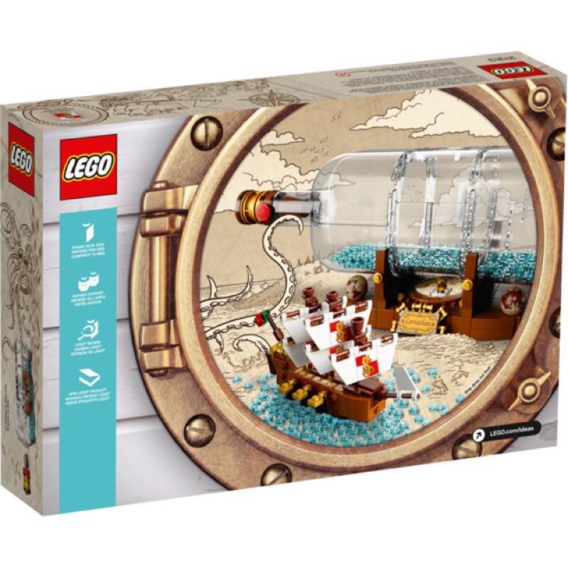 樂高/Lego 21313 IDEAS 瓶中船