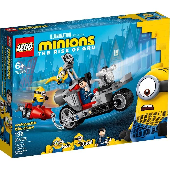 [大王機器人] 樂高 LEGO 75549 Minions 小小兵系列 -摩托車追逐 小小兵2 格魯的崛起