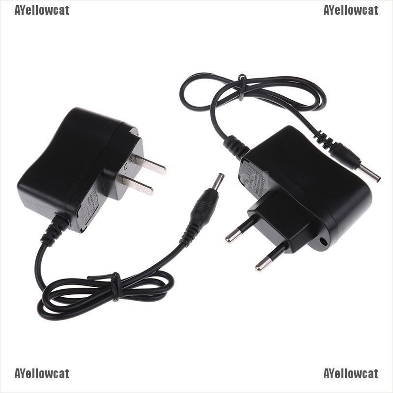 AYellowcat US / EU 4.2V AC鋰電池充電器,用於18650電池前照燈手電筒