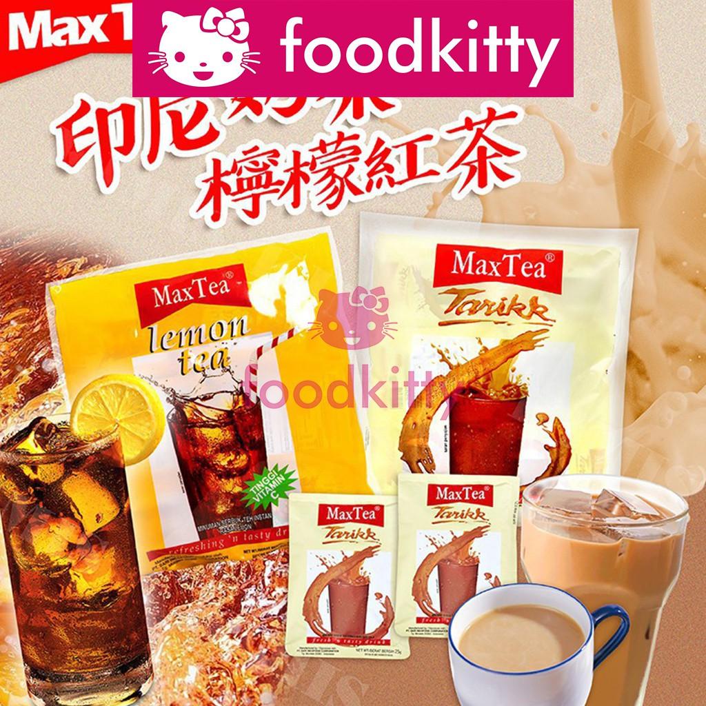 【foodkitty】 印尼 檸檬紅茶 Max Tea 印尼奶茶 美詩奶茶 25g 即溶 紅茶 奶茶 拉茶 Maxtea