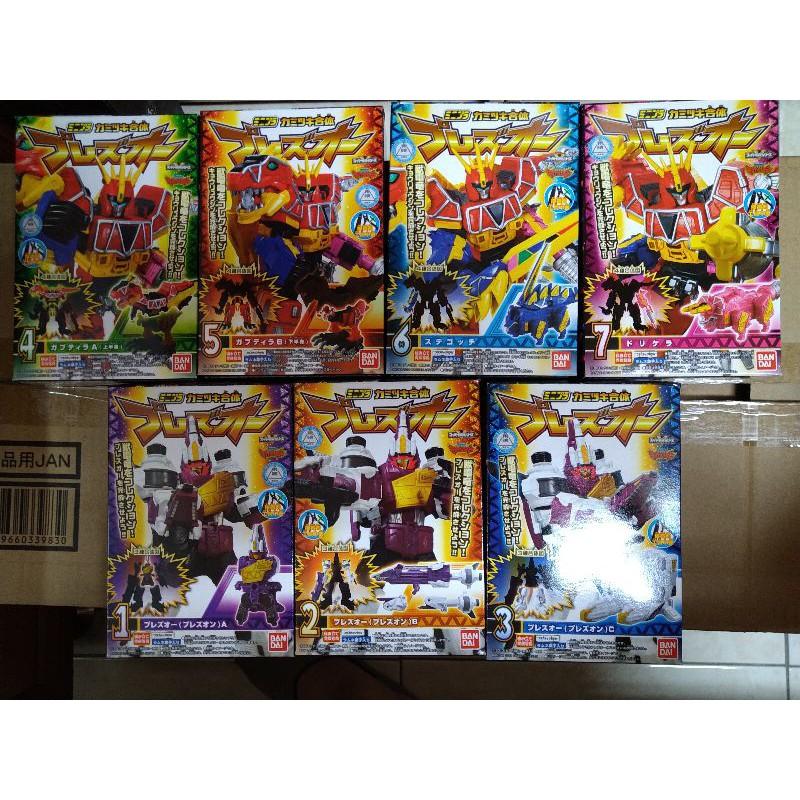 現貨 日版 盒玩 獸電戰隊 合體系列 第四彈 全7盒