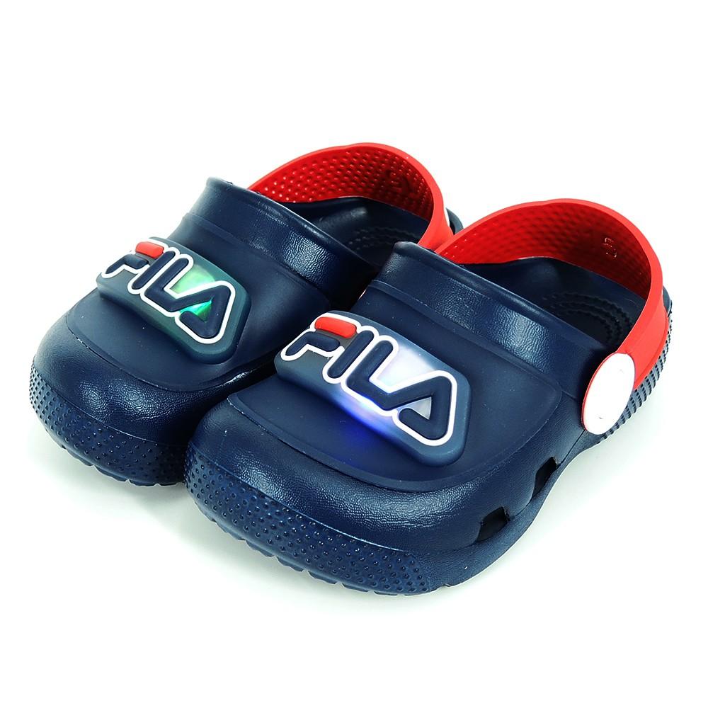 FILA MD 電燈園丁鞋 中小童 涼鞋 7-S855U-321