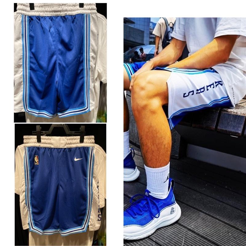 Nike/耐克2020賽季湖人隊61復古SW球褲籃球運動短褲CN1029-495