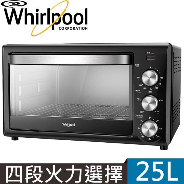 Whirlpool惠而浦 25L旋風烤箱 WTOM251B[現貨]