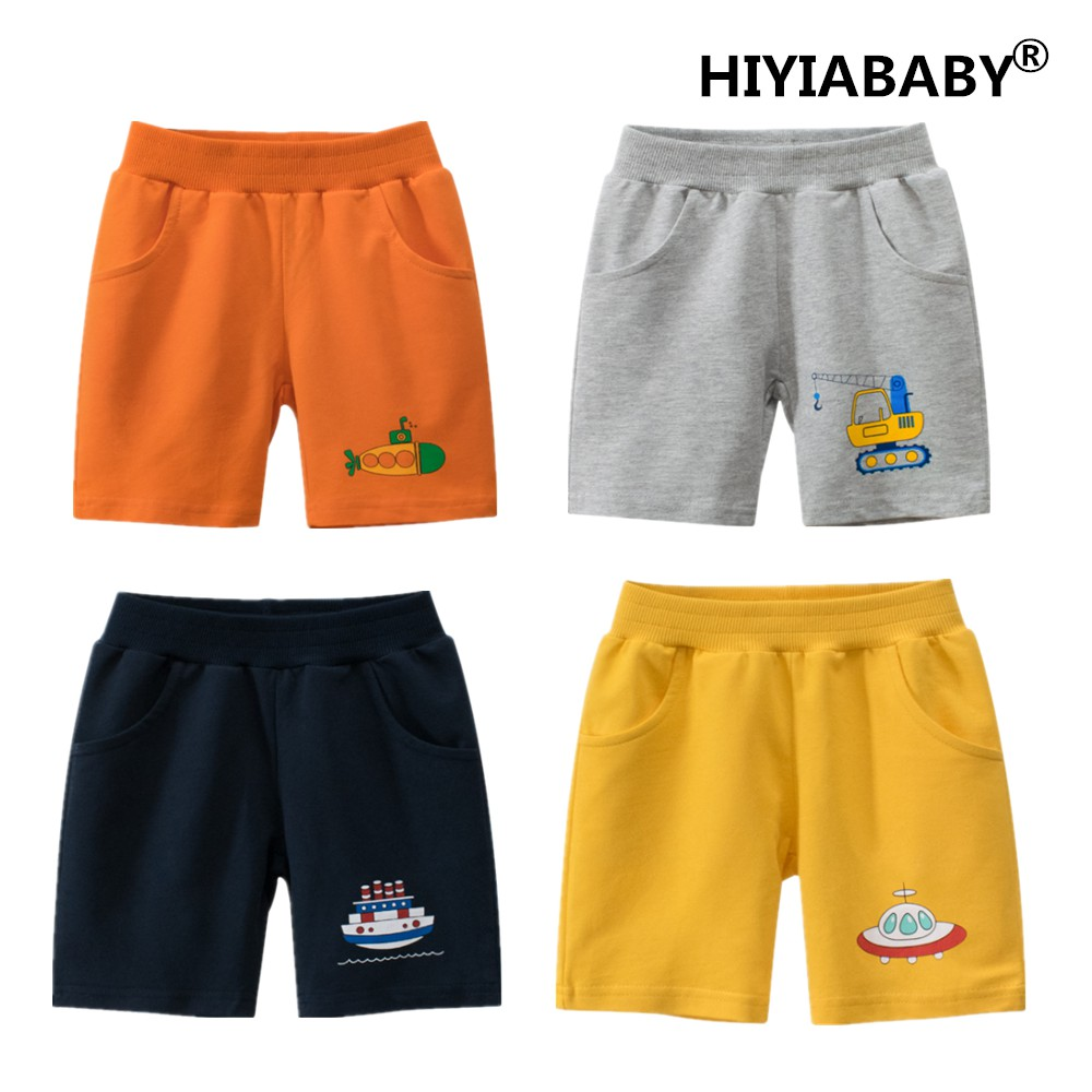 夏季新款男童短褲五分褲純棉兒童褲子中小童褲子