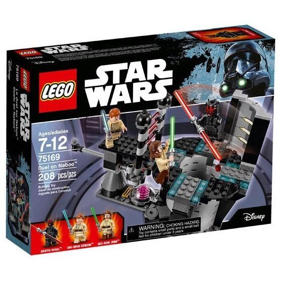 【台中翔智積木-絕版品】LEGO 樂高 星際大戰 75169 Duel on Naboo