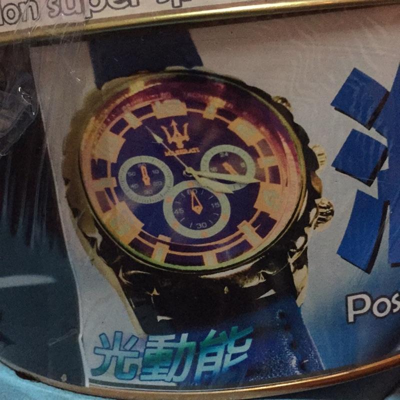 MASERATI 海神 光動能時尚手錶