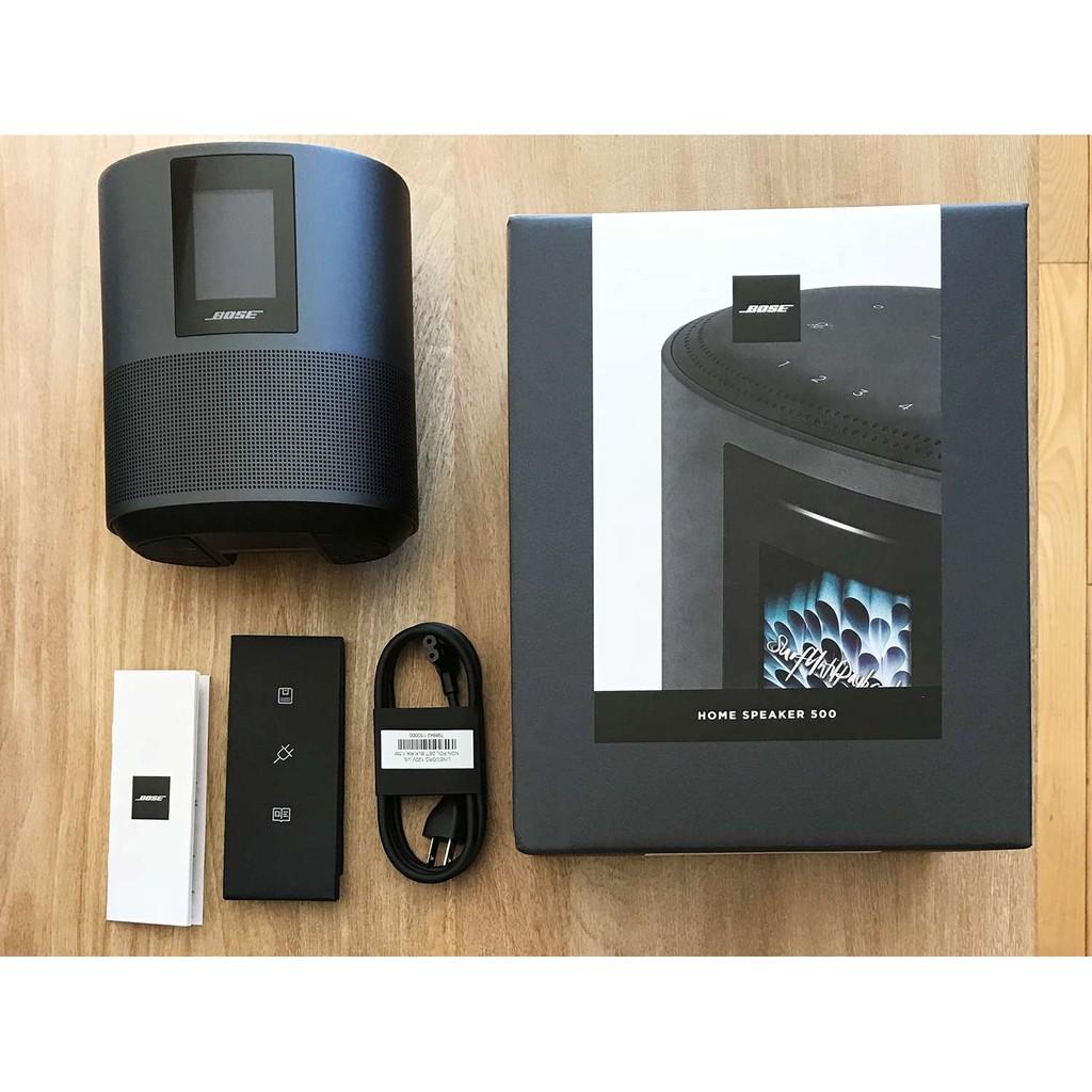 現貨 Bose Home Speaker 500 智慧型揚聲器 藍芽喇叭 全新盒裝 一年保固 台北當日到貨