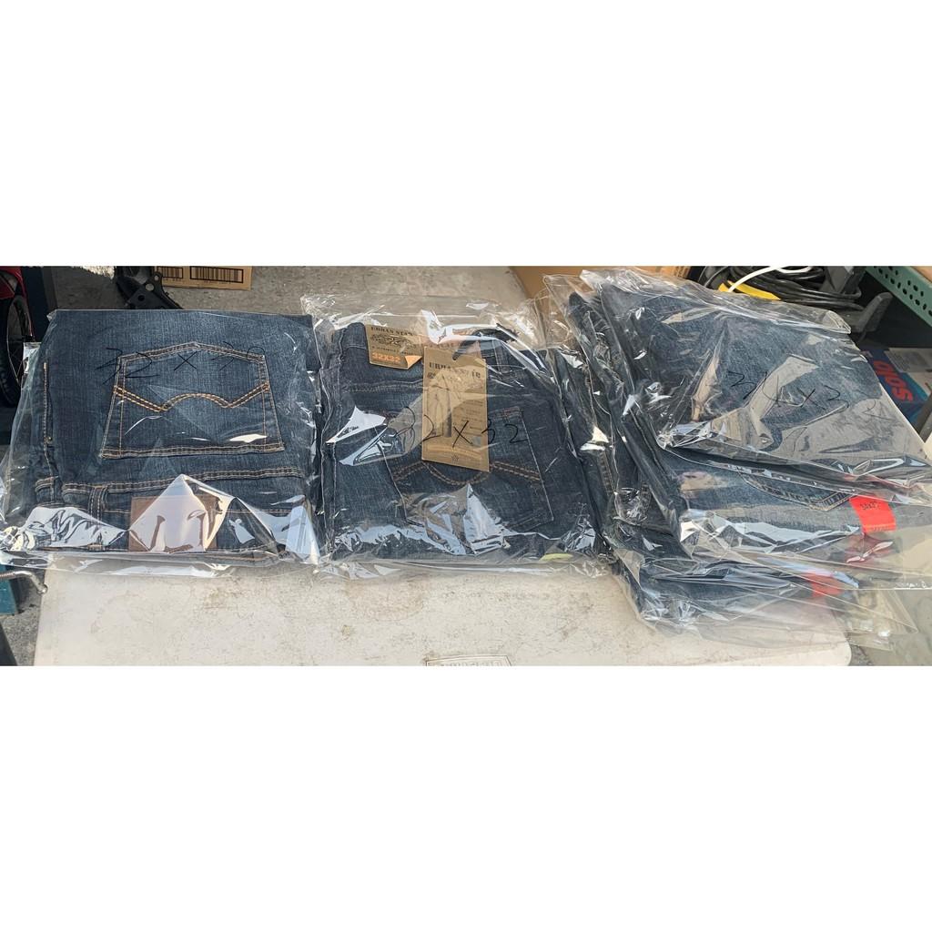 ↖口盃暢貨社-男性 牛仔褲類-URBAN STAR 男直筒牛仔褲-照片就是出售物件
