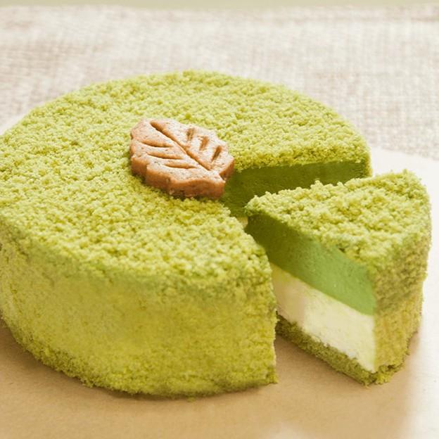 【森果香】乳酪蛋糕5吋 北海道起司雙重奏-抹茶柚子
