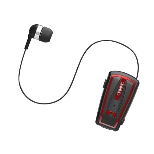 REMAX RB-T12 領夾式 藍牙耳機 中文提示 免提通話 NEW 新款 耳機一鍵收縮