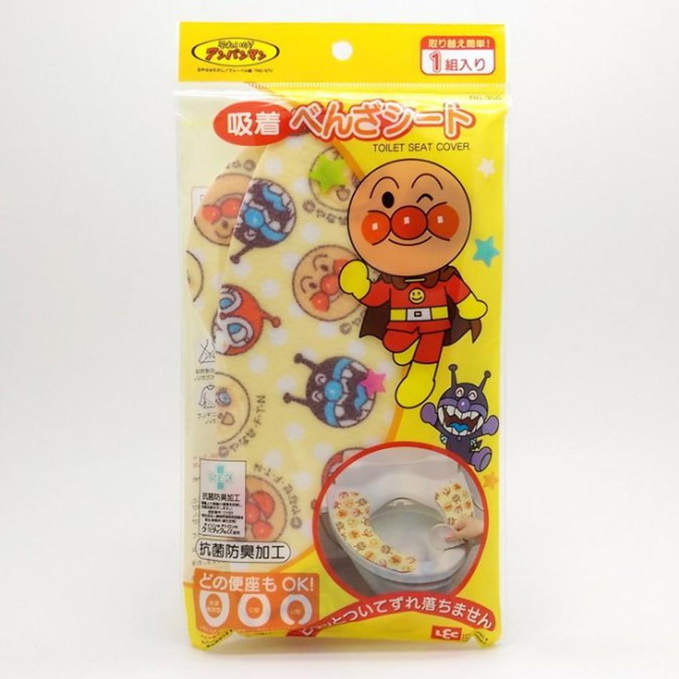日本 ANPANMAN 麵包超人 抗菌防臭 馬桶保暖坐墊(5637)