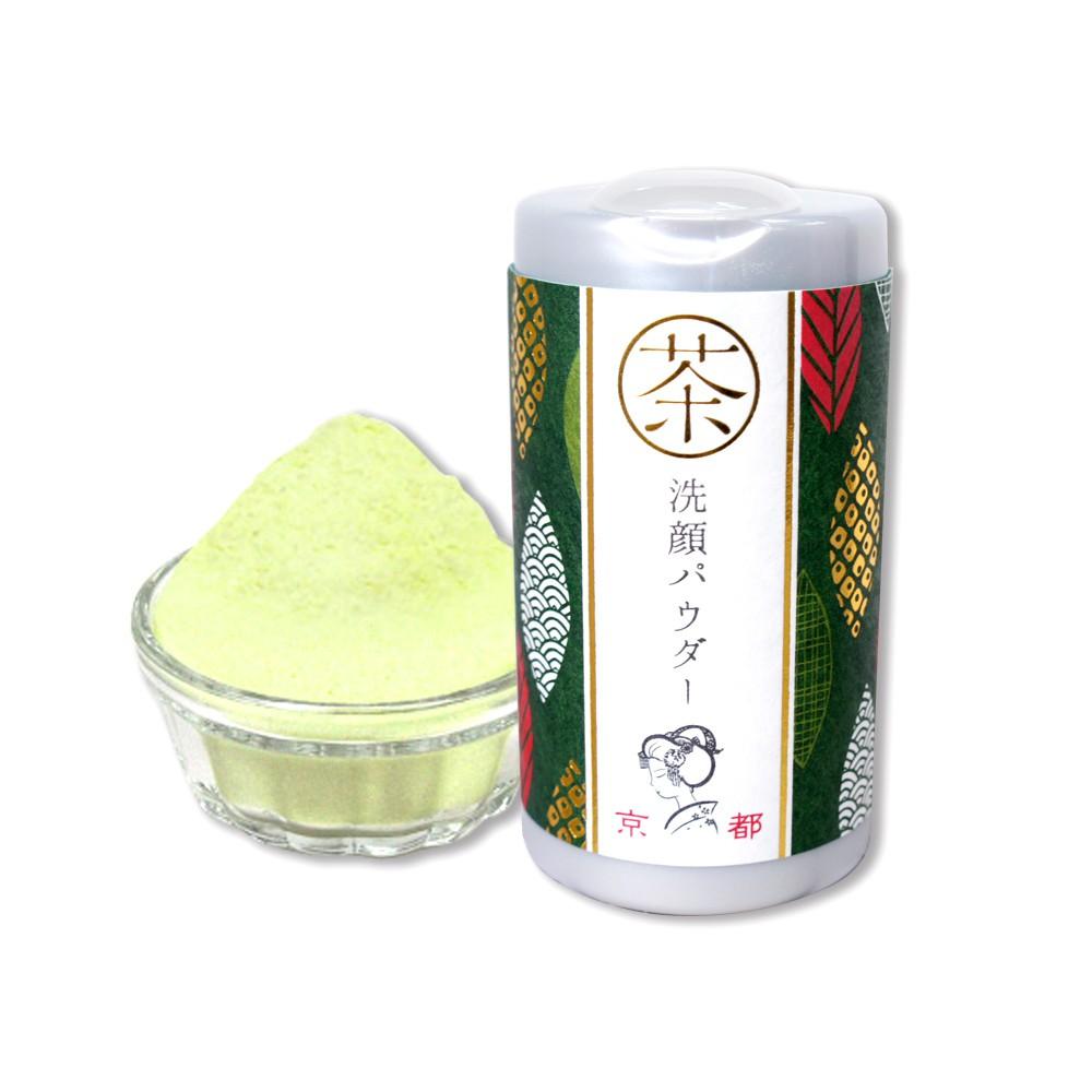 日本 京都舞妓 綠茶黑頭角質洗顏粉(50g)【小三美日】D175304
