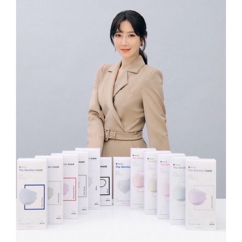 《現貨》🔺同色、混色 ㄧ組10片🔺🇰🇷韓星 李智雅代言 馬卡龍色KF94口罩