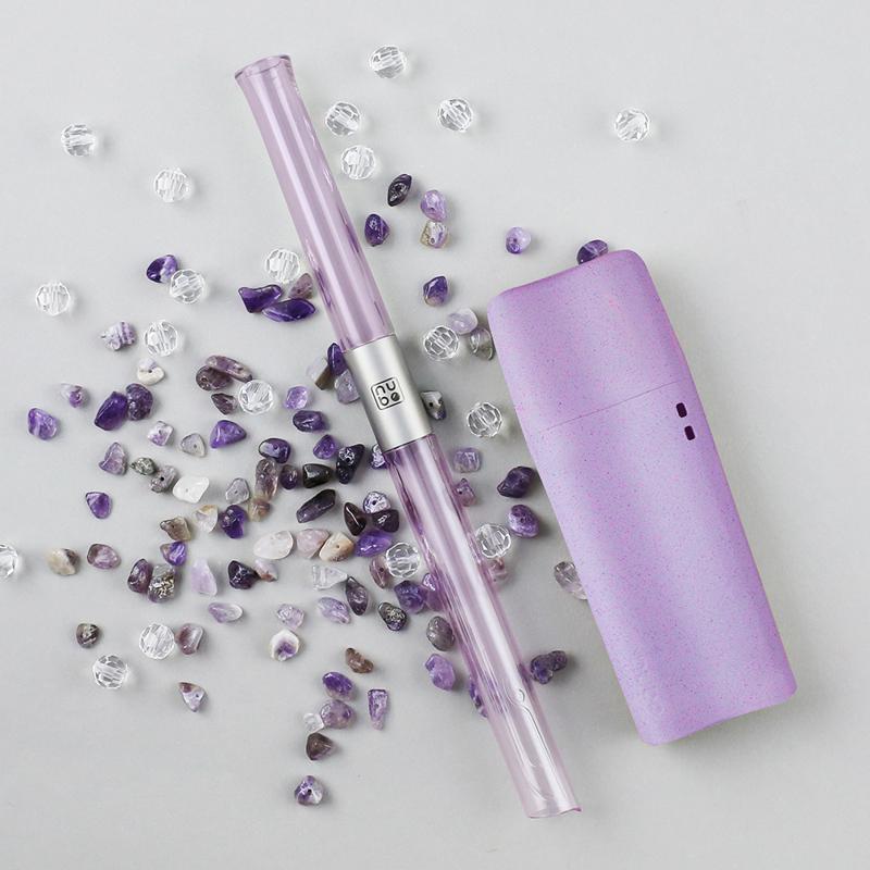 【TRUEGRASSES】nubo吸管_水鯨J11(小鯨盒)-薰衣紫