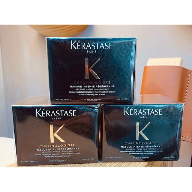 Kérastase 卡詩  黑鑽極萃逆時髮膜 200ml Kerastase 附贈挖勺