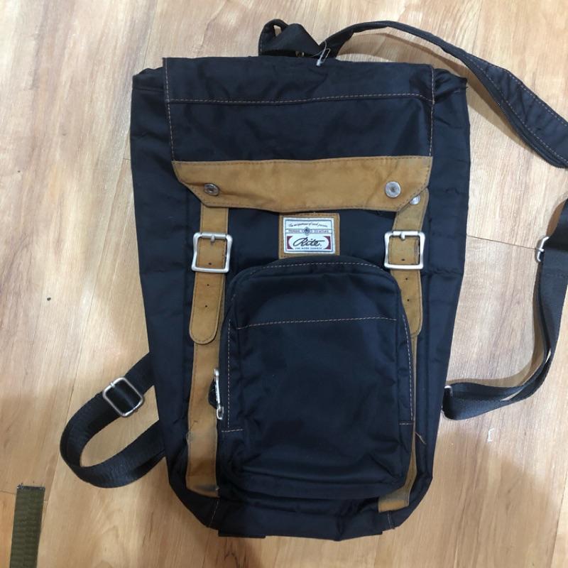 Rite後背包 可拆前袋變成隨身包