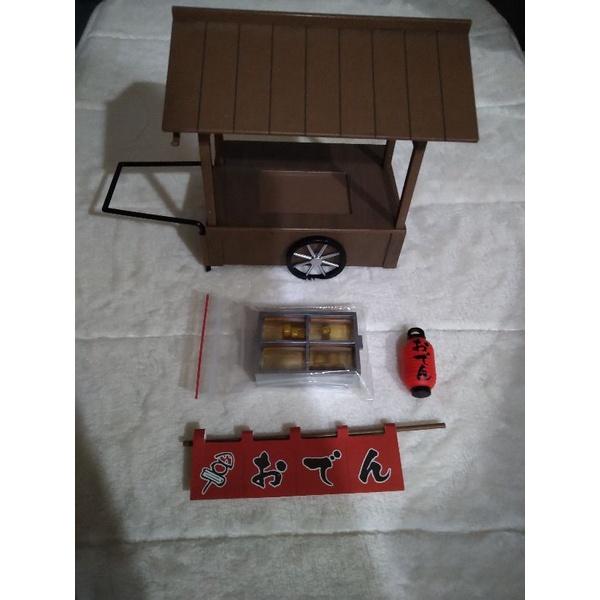 盒玩 骷髏系列 關東煮車 二手