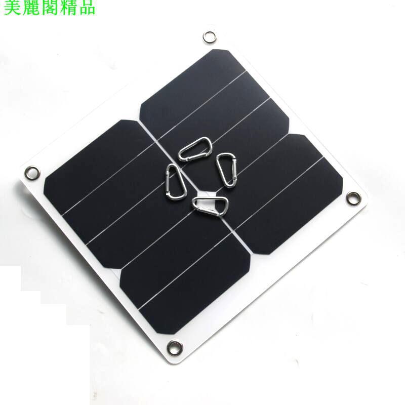 13W 5V 太陽能充電板 充電器 高品質太陽能光伏組件Sunpower 25W*美麗閣精品店