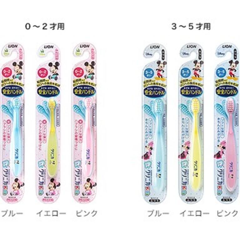 迪士尼 彈力牙刷 可彎曲牙刷 0-2歲/3-5歲 三色