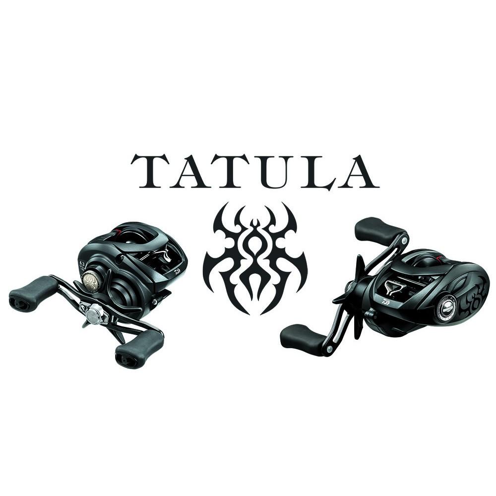 【現貨供應】DAIWA TATULA 100/150 XS HS 黑蜘蛛TATULA 小烏龜捲線器