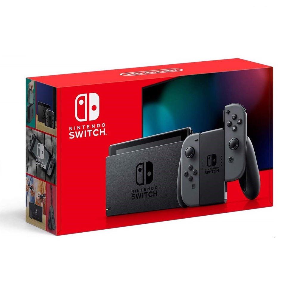 Nintendo Switch 公司貨 現貨供應  電力加強版 NS主機 灰色 【台灣公司貨】台中星光電玩