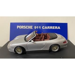 ( BBS輪框版 ) AUTOart 1/ 18 Porsche 911 ( 996 ) Carrera 非 kyosho 台北市