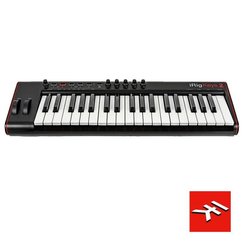 IK iRig KEYS 2 PRO 鍵盤控制器 MIDI 37鍵標準鍵 IOS/ANDROID/MAC/PC【公司貨】