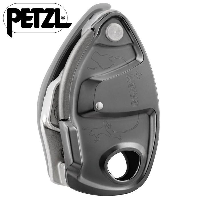 Petzl Grigri + 確保器 制動器 D13A G 灰色
