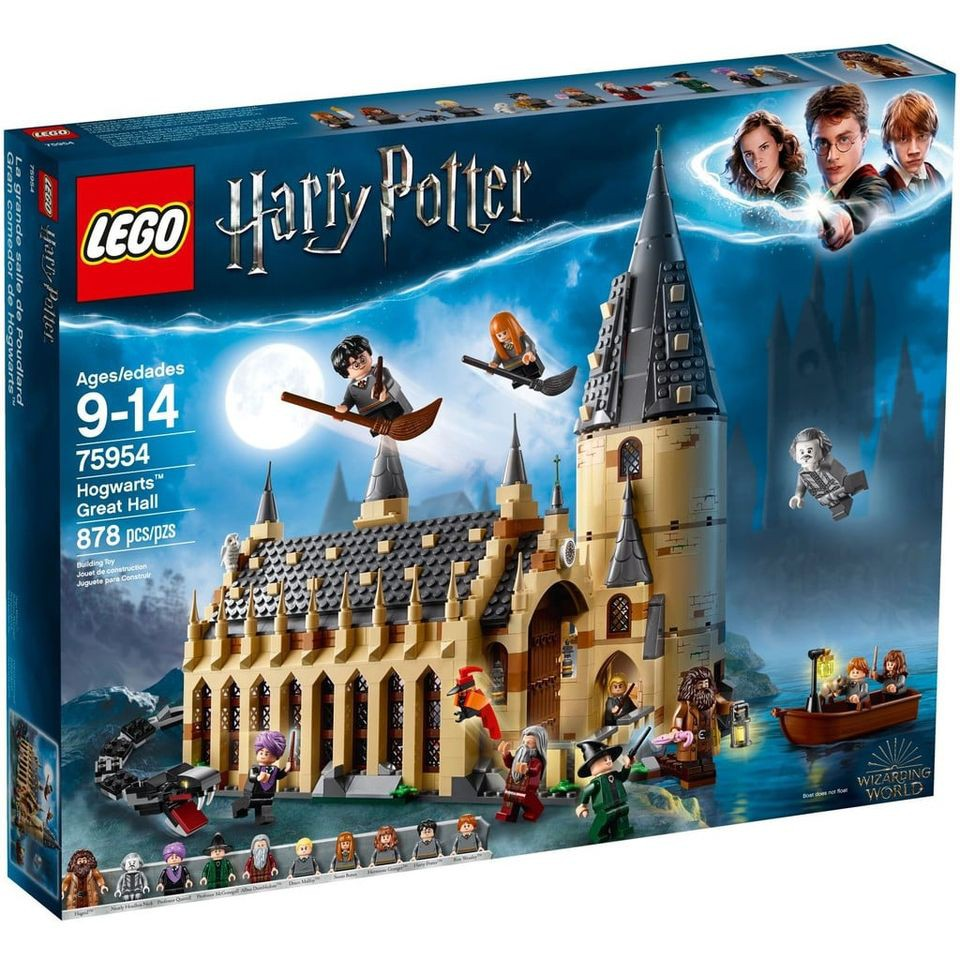 樂高LEGO - 75954 哈利波特 霍格華茲大廳 Hogwarts The Great Hall (已組)