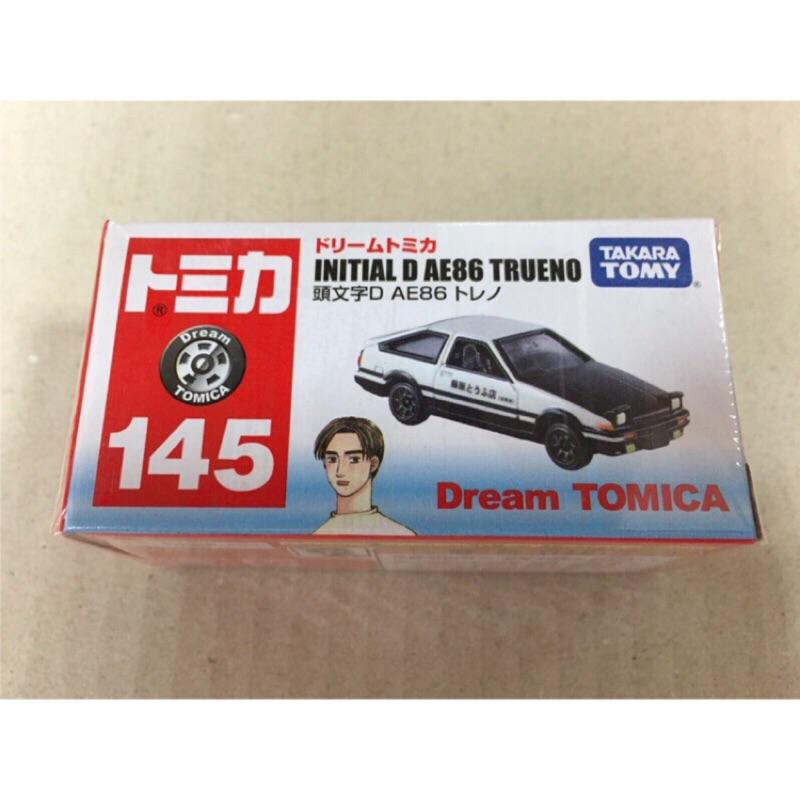 《兩津車庫》TOMICA 多美 NO.145 頭文字D AE86 dream tomica 拓海 藤原豆腐店