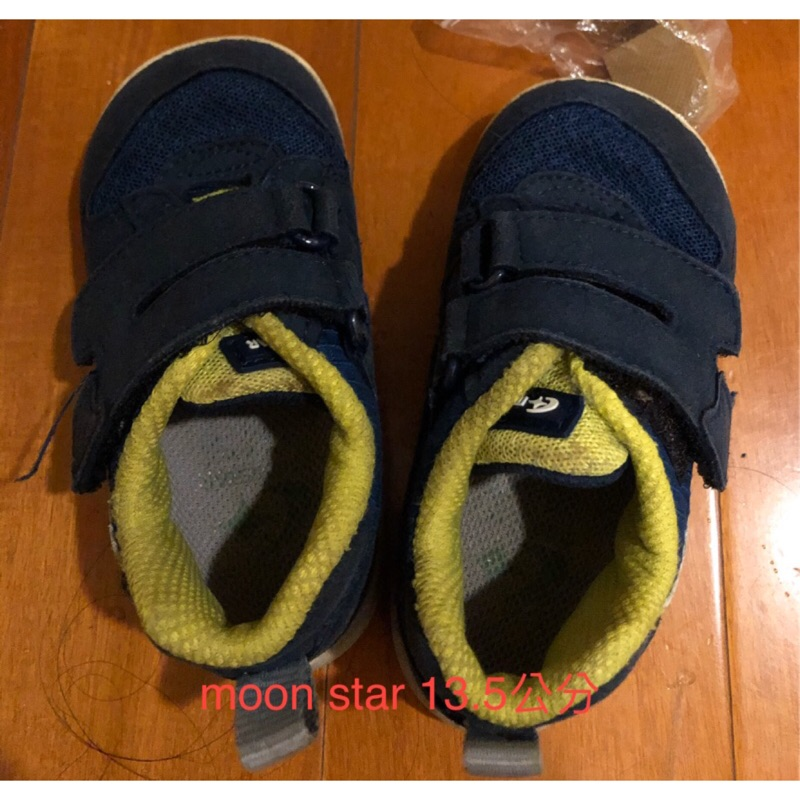 ✤二手✤✿ 現貨✿日本星月Moonstar 機能童鞋 學步鞋 運動鞋 步鞋男寶寶13.5