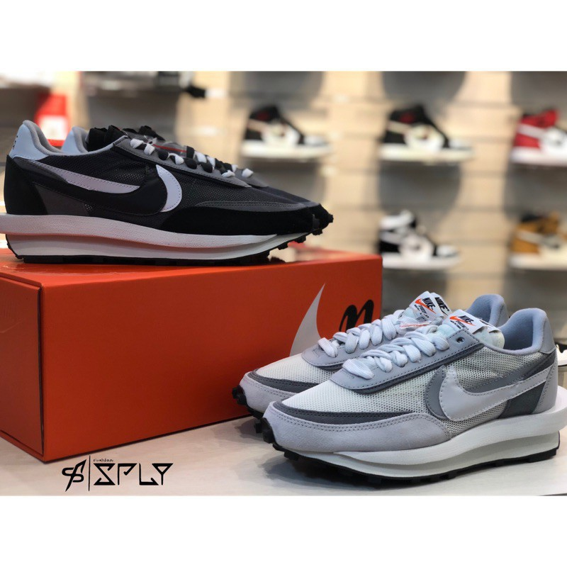 歐洲 Sacai X Nike LDV 灰白 / 黑白