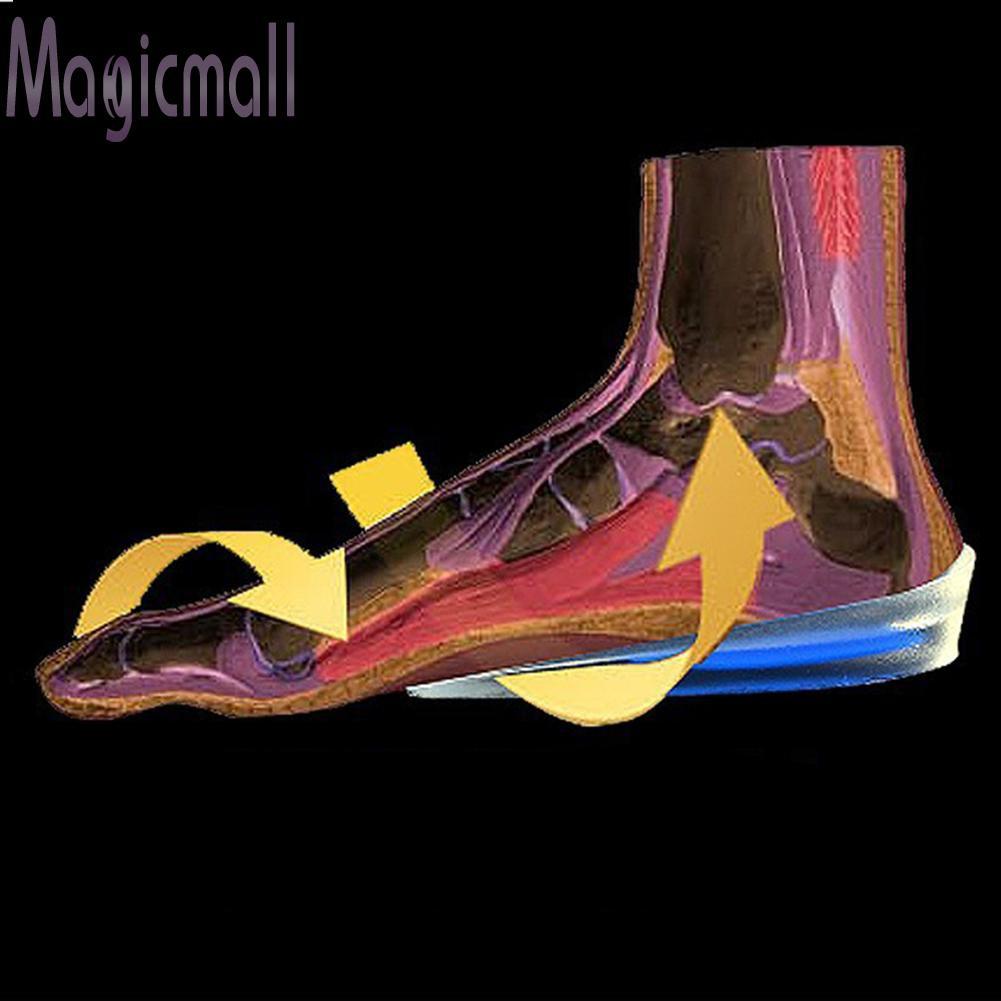 MAG1雙腳跟支撐墊杯膠矽膠減震墊矯形增高鞋墊護理腳