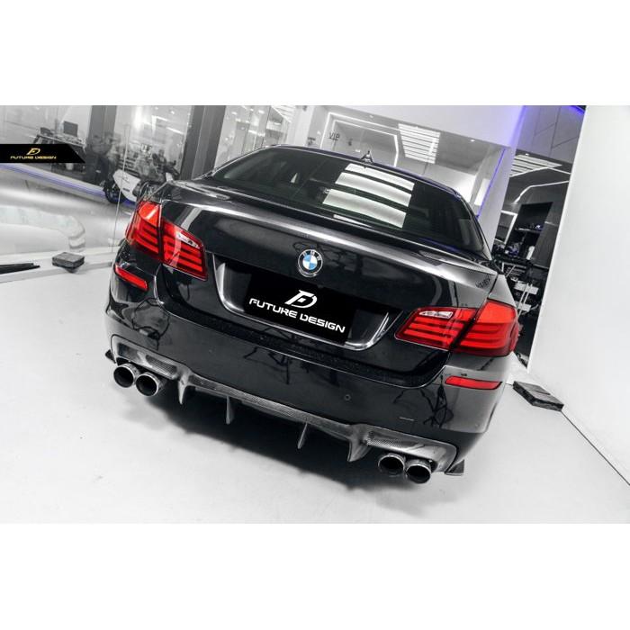 【政銓企業】BMW F10 M5 MTECH 後保專用 V款 高品質 碳纖維 卡夢 後下巴 後中包 535 M5