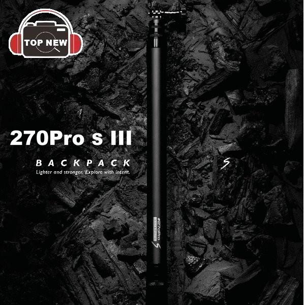 270Pro BackPack S III GoPro 碳纖維 自拍桿 270公分 防水 輕巧 專屬桿身編號 公司貨